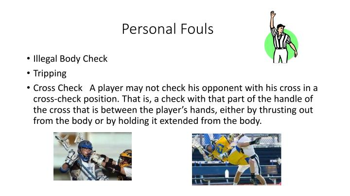 Personal Fouls