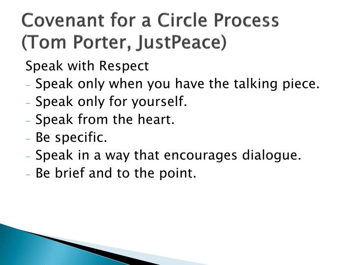 Covenant for a Circle Process