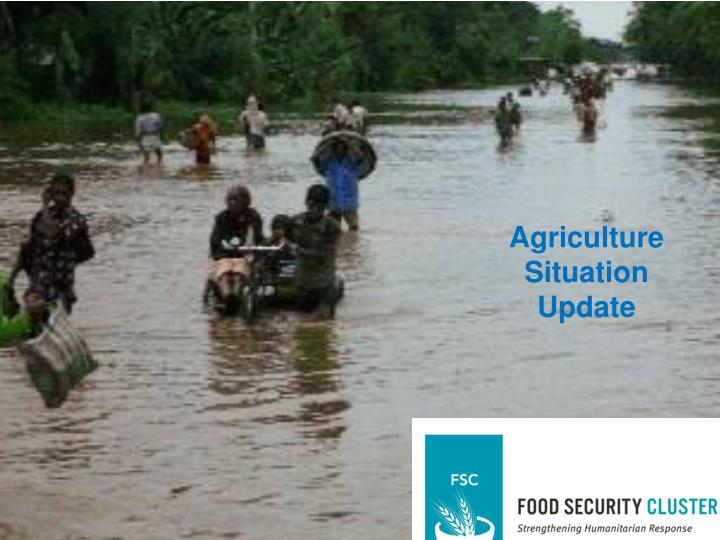 agriculture situation update n.