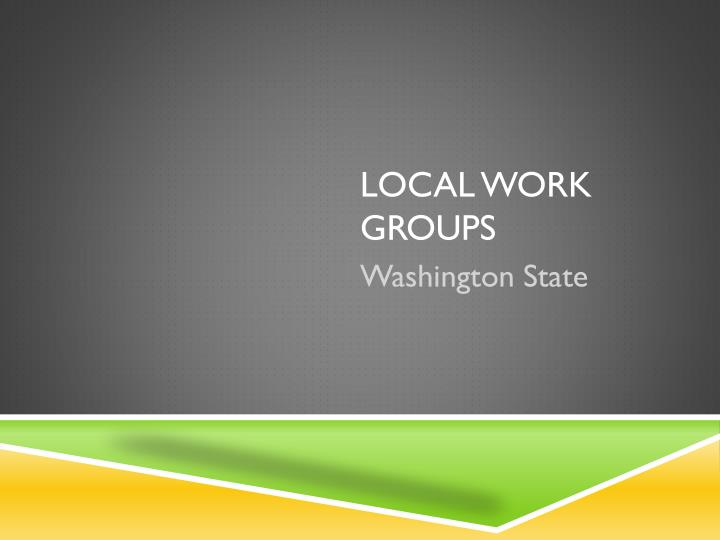 local work groups n.