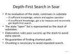 depth first search in soar
