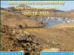 lake mcclure impounded by new exchequer dam dec 18 2013