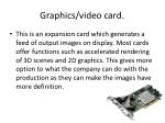 graphics video card