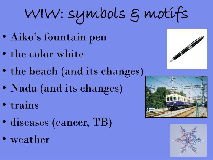 WIW: symbols & motifs
