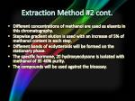 extraction method 2 cont3