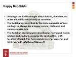 happy buddhists