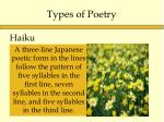 types of poetry2