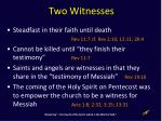 two witnesses1
