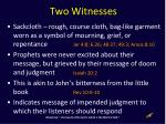 two witnesses2