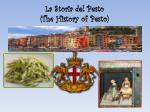 la storia del pesto the history of pesto