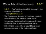 wives submit to husbands 3 1 71