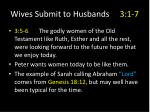 wives submit to husbands 3 1 713