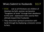 wives submit to husbands 3 1 714