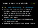 wives submit to husbands 3 1 718
