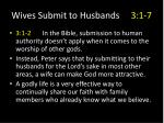 wives submit to husbands 3 1 76