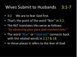 wives submit to husbands 3 1 77