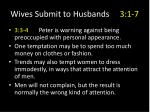 wives submit to husbands 3 1 79