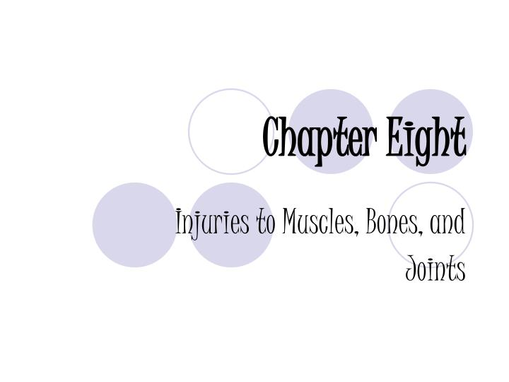 injuries to muscles bones and joints n.