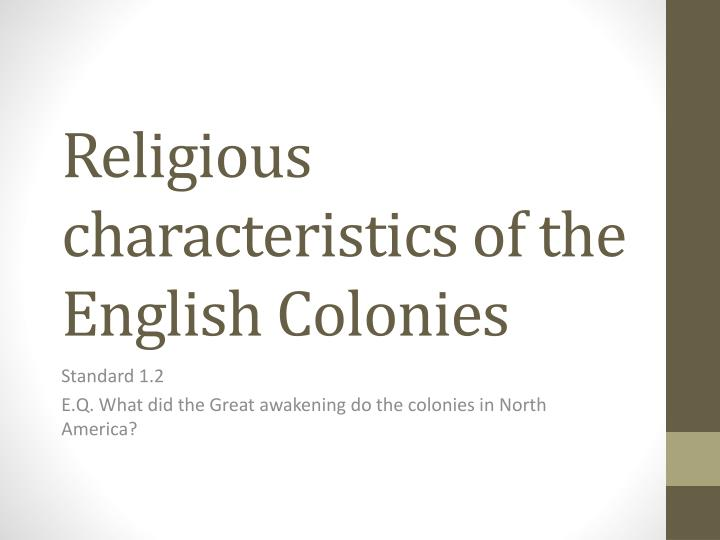 an analysis of the great awakening in north america The great awakening: the roots of evangelical christianity in colonial america (review) edwin s gaustad from lieu of an abstract, here is a brief excerpt of.