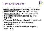 monetary standards2