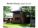 barton house buffalo ny 1903
