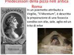 predecessori della pizza nell antica roma