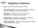 eligibility guidelines1