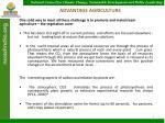 advantage agriculture