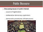 public discourse
