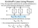 kirchhoff s laws using phasors2