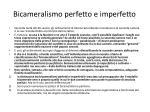 bicameralism o perfetto e imperfetto
