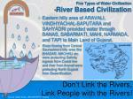 five types of water civilization river based civilization