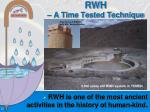 rwh a time tested technique