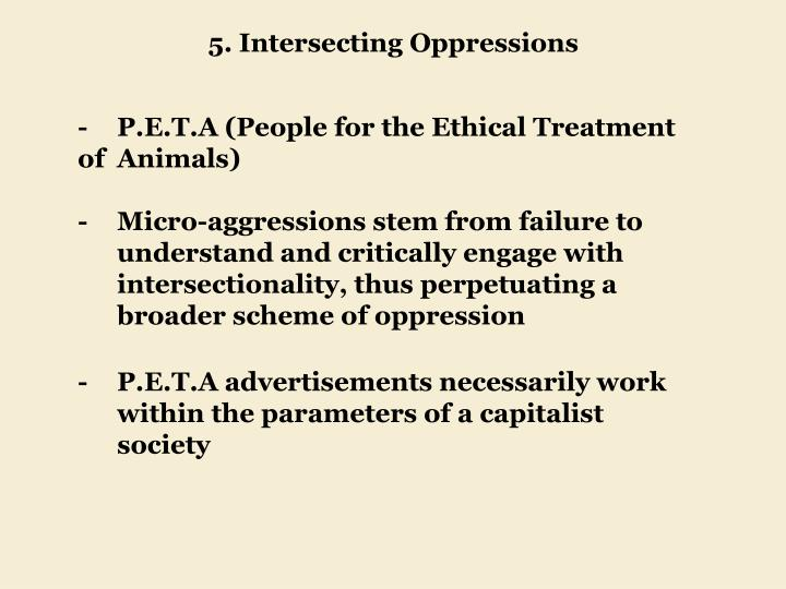 5. Intersecting Oppressions