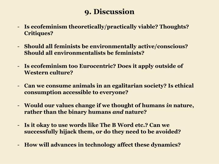 9. Discussion