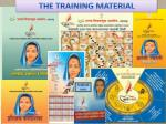 the training material