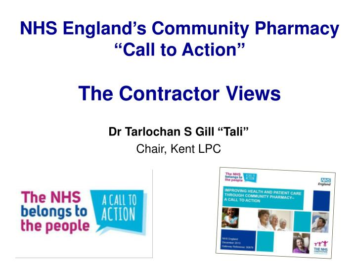 nhs england s community pharmacy call to action the contractor views n.