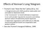 effects of kennan s long telegram1