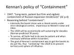 kennan s policy of containment