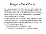 reagan s moral clarity