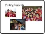 visiting students