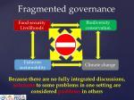 fragmented governance