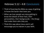 hebrews 5 12 6 8 conclusions2