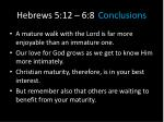 hebrews 5 12 6 8 conclusions3