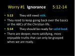 worry 1 ignorance 5 12 143