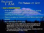 the nature of god11