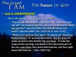 the nature of god12