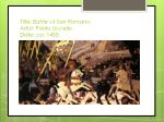title battle of san romano artist paolo uccello date ca 1455