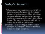 donley s research