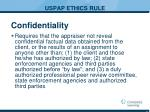 uspap ethics rule2